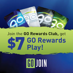 GO Rewards at Indigo Sky Casino